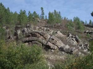 Plegamiento geologico