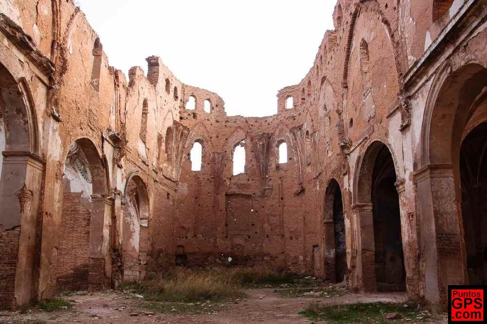 Ruinas de Belchite, devastado durante la Guerra Civil